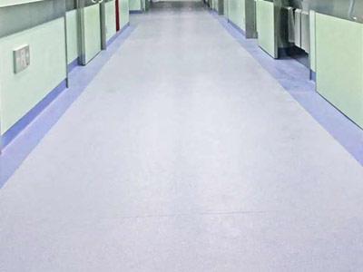 医院塑胶地板案例